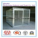 Fossa di scolo del cane o gabbia del cane da vendere/gabbia galvanizzata piegata accatastabile di memoria saldata acciaio