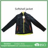 2018 homens respirável Sport Softshell Jacket