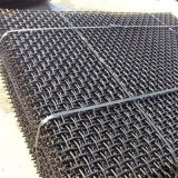 65のMn鋼鉄によってひだを付けられるワイヤースクリーンの網