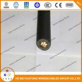 Certificado pela UL 4703 600V Standard 1000 ou 2000V 12AWG 10AWG Fio Solar Fotovoltaica Cabo PV