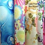 高品質は顧客デザインのPPのNonwovenファブリックによって印刷されたファブリックを印刷した