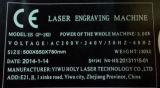 20W de Laser die van de vezel de Machine van de Gravure voor Metaal merkt