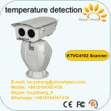 Câmera do Thermal da deteção da temperatura do varredor do CCTV da segurança