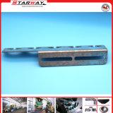 Zink-überzogenes Metall, das Teile für Metallriemen-Klipp stempelt