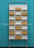 Slatwall de madeira, painel de parede, unidade de parede, cremalheira da parede