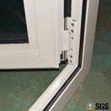 格子の二重ガラス、白いカラー粉の上塗を施してある熱壊れ目のアルミニウムプロフィールの開き窓のドアK06024