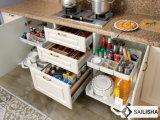 Armadio da cucina di legno dell'hotel dell'isola domestica tedesca moderna della mobilia