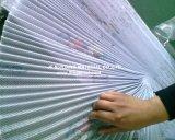 Schermo del filato del tessuto dello schermo dell'insetto pieghettato poliestere standard dell'India