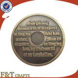 ないカラーの昇進の記念品の金属の硬貨
