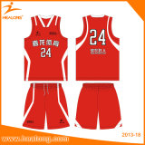 Heißer Verkaufs-guter Entwurfs-Farben-Sublimation-Basketball Jersey