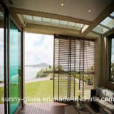 Vidrio de cristal de la lumbrera de las persianas para la ventana y la puerta