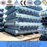 Cuerda de rosca y tubo galvanizado casquillo y Tubo-Pre-Galvanizado