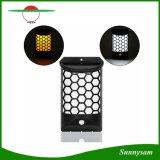 8 LED de luz solar de inducción inteligente de la valla de la pared exterior Lámpara de Jardín de luz del sensor de movimiento horizontal