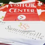 Выполненный на заказ PVC Vinly печатание цифров рекламируя знамя с печатание