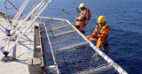 Het Opleveren van het Helikopterdek van de Draad van het roestvrij staal