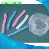 Rete di capelli a gettare non tessuta con doppio elastico