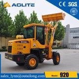 carregador chinês 920 da parte frontal do trator da fábrica 1ton para a venda