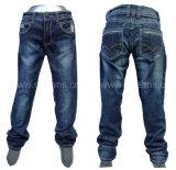 Jeans 100% del denim di modo del cotone dei jeans dell'uomo popolare