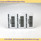 Cartão de código de barras para supermercado em material de plástico ou papel