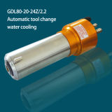 asse di rotazione automatico del cambiamento ISO20 dello strumento 2.2kw (GDL80-20-24Z/2.2)
