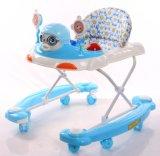 Старомодный ходок младенца с большими колесами