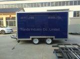Новая конструированная Moving Towable передвижная тележка еды с Ce