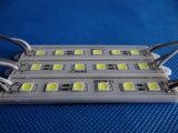 DV12V 5050 금속 표시를 위한 6개의 칩 LED 모듈