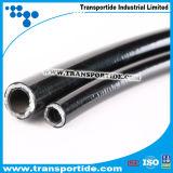 Boyaux hydrauliques de tresse de fibre de SAE R7
