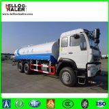 Van Vrachtwagen 6 X 4 van de Tanker van de Brandstof De Vrachtwagen van de Olietanker linker Drijf336HP voor Verkoop