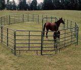 Панель загородки фермы рельса Австралии овальная, гальванизированные панели скотного двора для поголовья