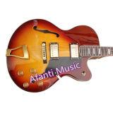 Halb-Hohle elektrische Gitarre des Karosserien-Zoll-L-5 (AGL-853)