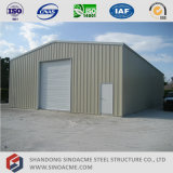 Sinoacmeの倉庫のための軽い鉄骨構造のプレハブの建物