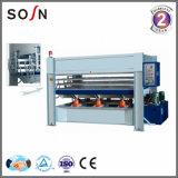 Machine chaude de presse de travail du bois