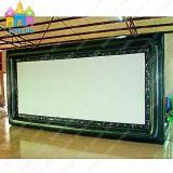 Blocco per grafici di lusso di film del cielo di Finego della parte posteriore gonfiabile esterna a grande schermo gigante dell'aria