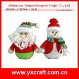 Кукла ветоши рождества украшения рождества (ZY15Y060-1-2)
