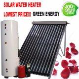 Calentador de agua de alta presión/a presión partido del sistema de calefacción de la agua caliente del colector solar del tubo de calor del tubo de vacío