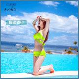 2018 Frauenroter Beachwear-reizvoller Bikini