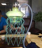 Mini cigarette électronique des méduses DEL de l'eau de fume-cigarettes de narguilé de Shisha E de cigarette de pipe d'Electre de cigarette de cigarette électronique en verre en verre Shaped neuve de pipe