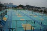 Alto bello pavimento elastico colorato della corte di sport di Reboud