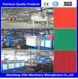 PVC空のタイプSの床のマットの放出機械