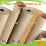Brown bon marché a réutilisé le roulis de papier d'emballage