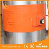 Calefator elétrico da correia do aquecimento do tambor do silicone