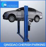 Double levage hydraulique de poste de l'automobile deux de véhicule du cylindre 4t