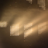 Chrom-goldener Augen-Pixel-Steuermatrix-Träger 5X5 CREE bernsteinfarbiges LED Stadiums-Licht