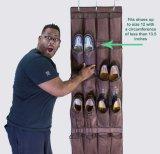 Organizador del zapato sobre la puerta