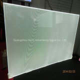 Light Panel를 위한 Organic Glass의 LED Light Guide Panel