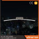 電気220Vアルミニウムによって曲げられる棒LED天井灯を保存しなさい