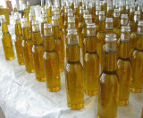 Claro encargo de resina de poliéster LED cerveza exhibición de la botella