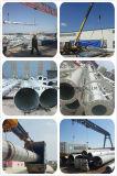 Китай на заводе Стальные трубчатые башни Guyed GSM связи Telecom