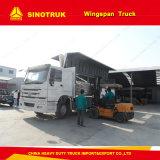 Marchandises faciles Hydraulic Wing Van Truck de charge/de déchargement à vendre